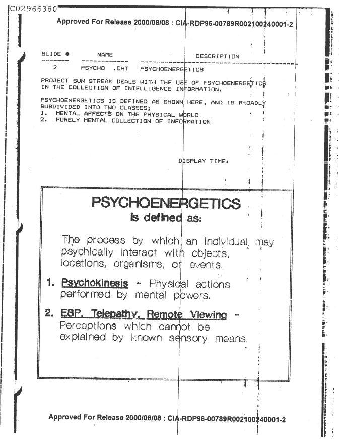 psychoenergetics
