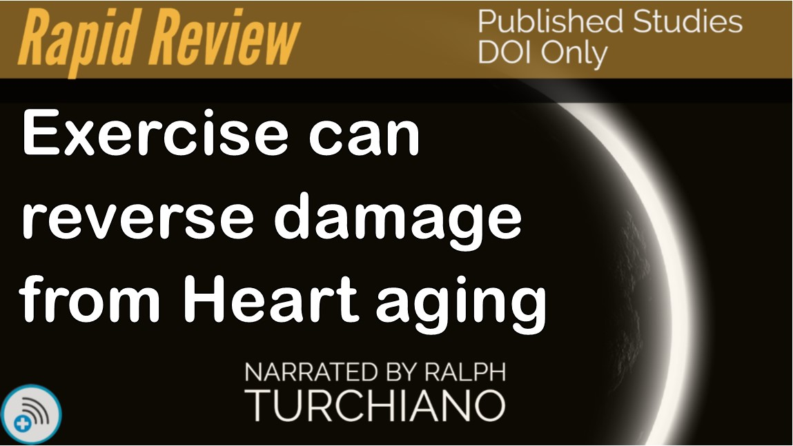 Exercise can reverse damage from Heartaging