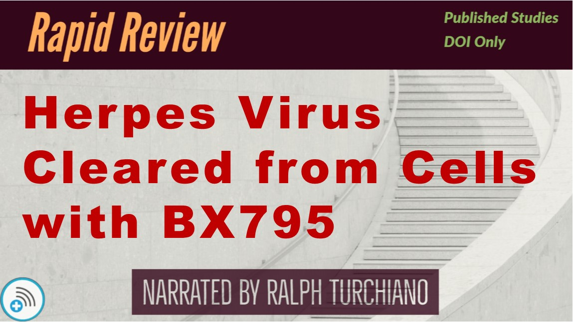 Herpes Virus Cleared from CellsBX795